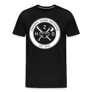 T-Shirts ~ Men's Premium T-Shirt ~ Zombie Home Defense