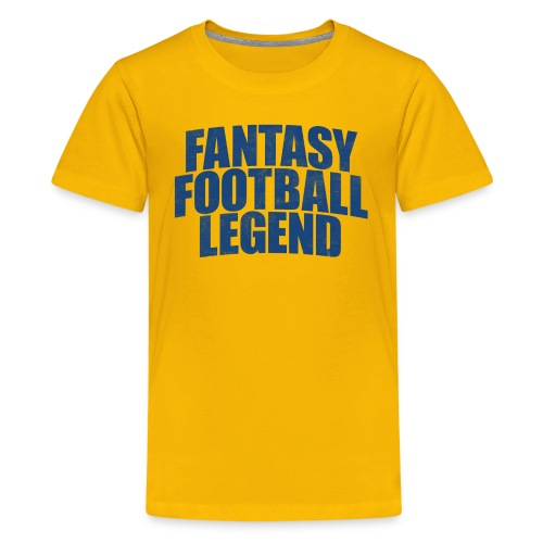 FANTASY FOOTBALL LEGEND - Kids' Premium T-Shirt