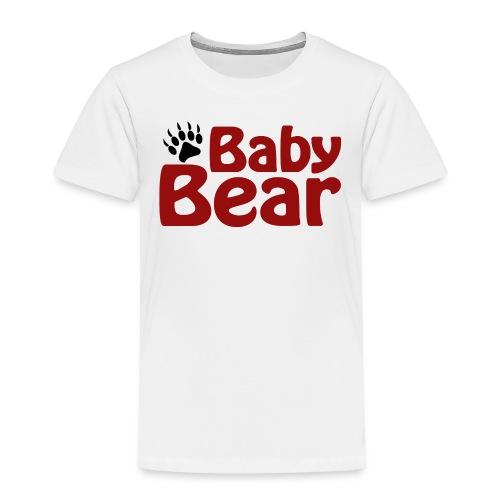 baby bear paw - Toddler Premium T-Shirt