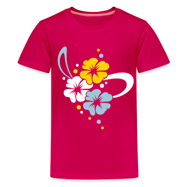Flower Bouquet with ribbon Kids' Shirts