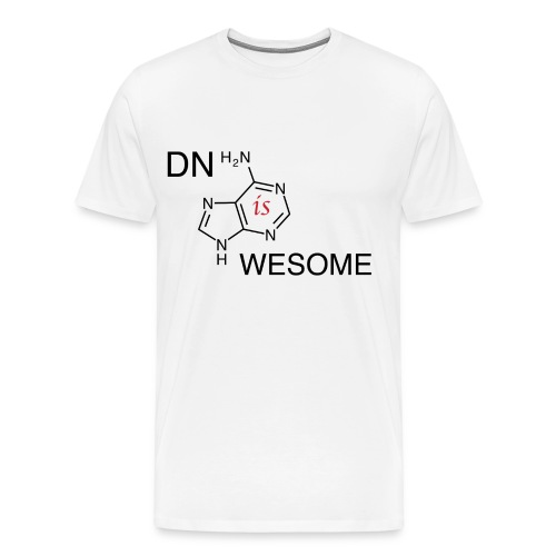 DNA is Awesome - Men's Premium T-Shirt