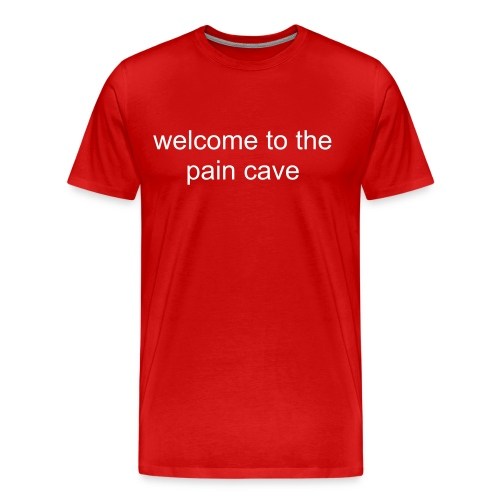 Pain Cave - Men's Premium T-Shirt