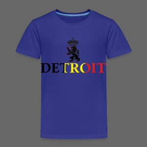 Detroit Belgian Flag - Toddler Premium T-Shirt