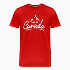 Canada Leaf Script Heavyweight T-Shirt