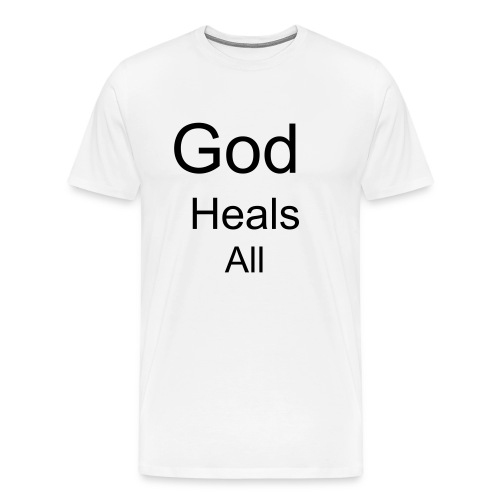 God Heals All - Men's Premium T-Shirt