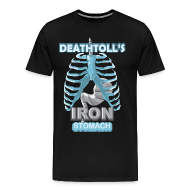 T-Shirts ~ Men's Premium T-Shirt ~ Deathtoll's Iron Stomach Shirt