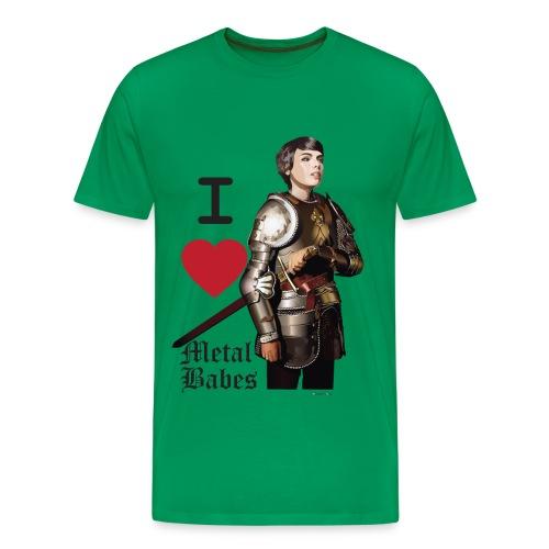 I Love Metal Babes Assorted color T-shirt - Men's Premium T-Shirt