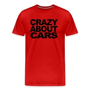 Crazy about cars - Men's Premium T-Shirt