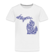 Baby & Toddler Shirts ~ Toddler Premium T-Shirt ~ Native Michigan