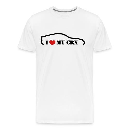I <3 my CRX - Men's Premium T-Shirt