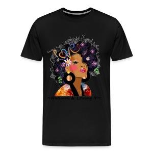 SN&LI! Natural & Loving It! 3x/4x Tee - Men's Premium T-Shirt