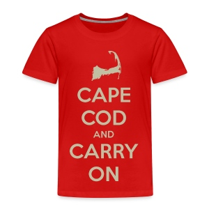 Cape Cod and Carry On - Toddler Premium T-Shirt