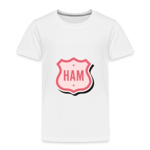 Ham Badge Toddler T-Shirt - Toddler Premium T-Shirt