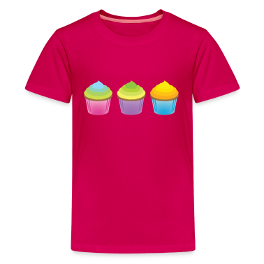 Three Lil' Cupcakes Shirt for Kids