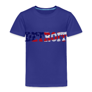 Baby & Toddler Shirts ~ Toddler Premium T-Shirt ~ A Detroit Flag