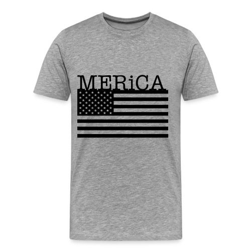Men's Premium T-Shirt - show your support on 4th of July or just throw it on and act like a badass american hero.