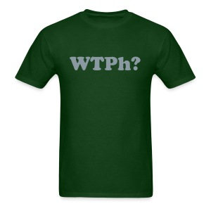 WTPh? Gray Type Men's - Men's T-Shirt