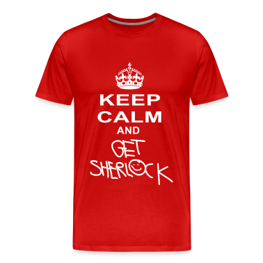 keep calm and get sherlock T-Shirts