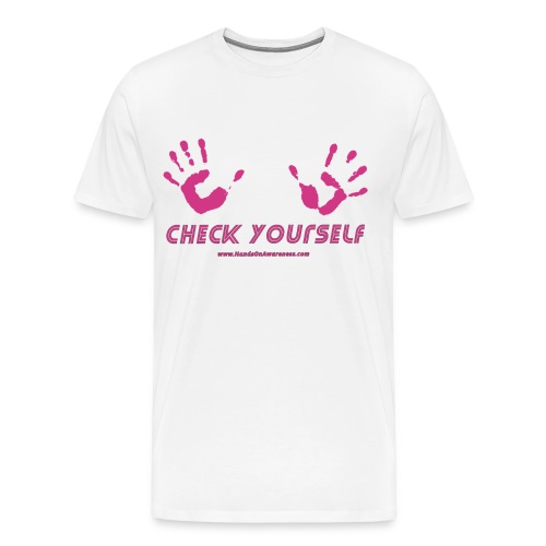 check yourself tee - Men's Premium T-Shirt