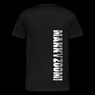 T-Shirts ~ Men's Premium T-Shirt ~ MannyZoom Skyscraper Heavy T-Shirt