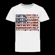 Baby & Toddler Shirts ~ Toddler Premium T-Shirt ~ Detroit, USA