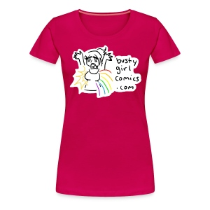 Sunshine and Rainbows T-Shirt - Plus Size - Women's Premium T-Shirt