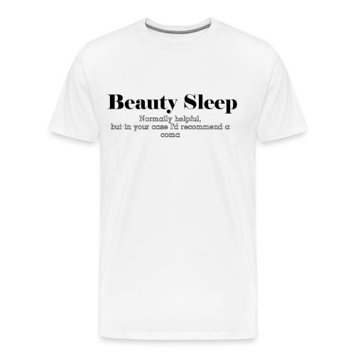 Beauty Sleep Men's T-Shirt - Men's Premium T-Shirt