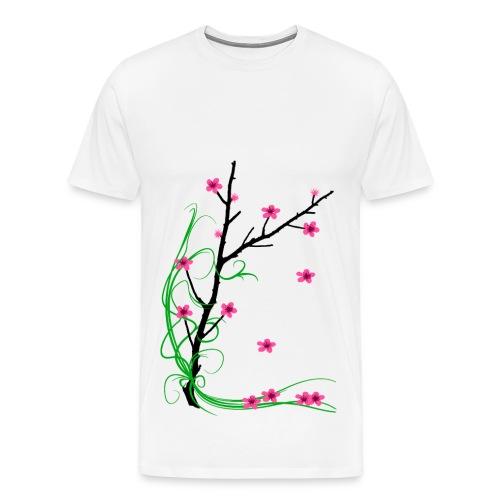 Cherry Blossom Tree - Men's Premium T-Shirt