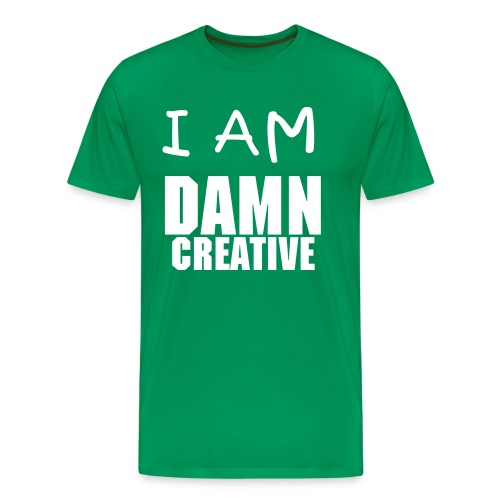 I AM DAMN CREATIVE - Men's Premium T-Shirt