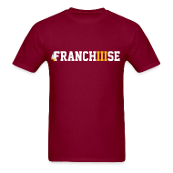T-Shirts ~ Men's T-Shirt ~ FranchIIIse Feathers Logo