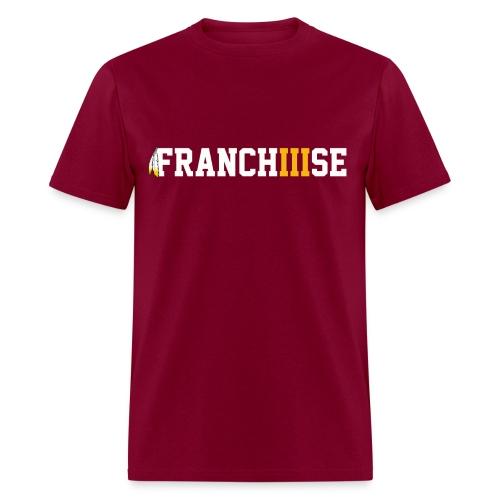 FranchIIIse Feathers Logo - Men's T-Shirt