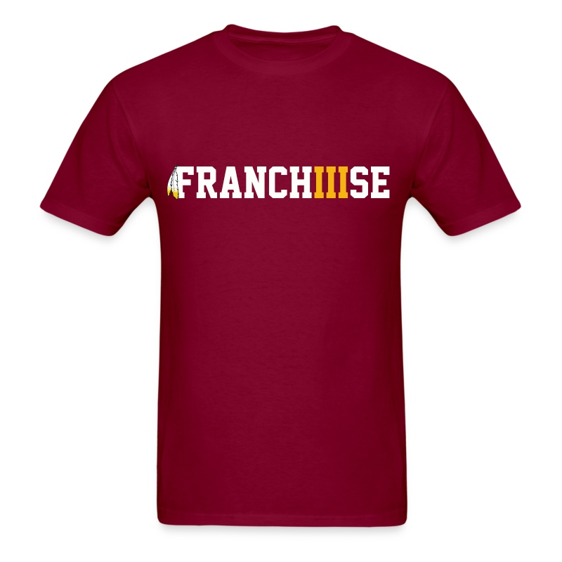 FranchIIIse Feathers Logo - Men's T-Shirt
