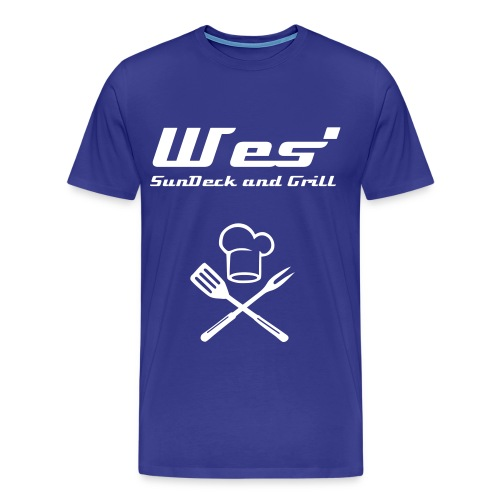 Wes' Bar and Grill T-Shirt - Men's Premium T-Shirt