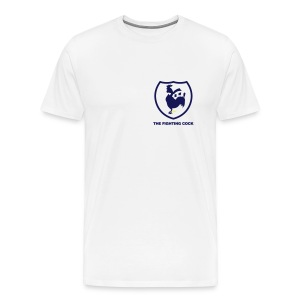 TFC Retro - White Short Sleeve T-Shirt - Men's Premium T-Shirt