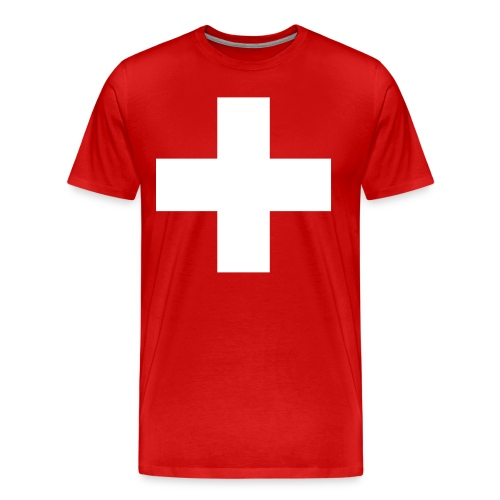Swiss Cross T-Shirts - Men's Premium T-Shirt