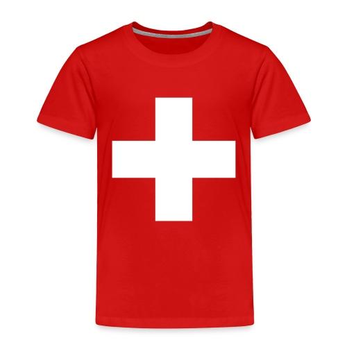 Swiss Cross Toddler Shirts - Toddler Premium T-Shirt