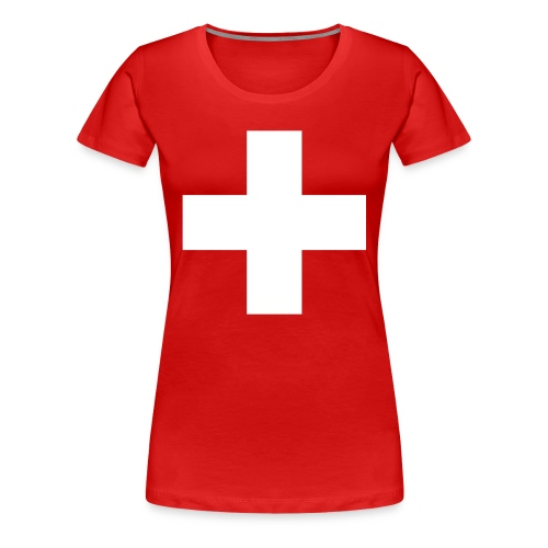 Swiss Cross Women's T-Shirts - Women's Premium T-Shirt