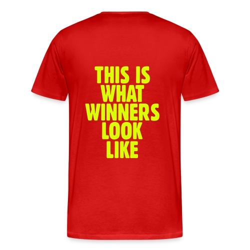Winner's  T-Shirt - Men's Premium T-Shirt