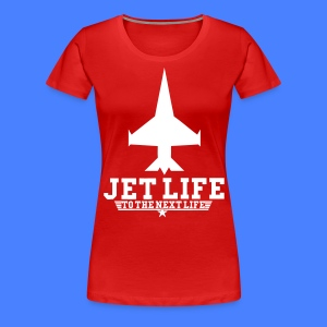 Jet Life To The Next Life Women's T-Shirts - stayflyclothing.com - Women's Premium T-Shirt