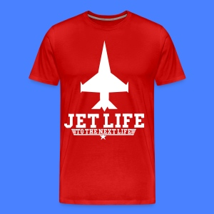 Jet Life To The Next Life T-Shirts - stayflyclothing.com - Men's Premium T-Shirt