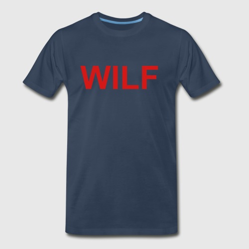 Arizona (Wildcat I'd Like To *) WILF - Men's Premium T-Shirt