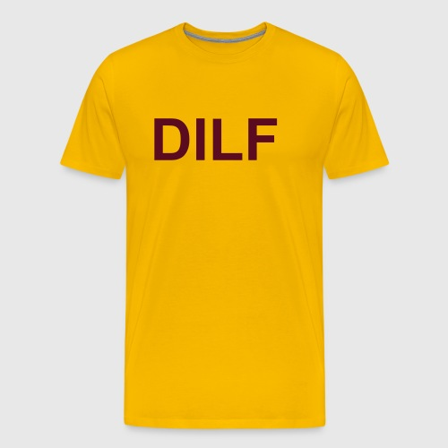 Arizona State (Devil I'd Like To *) DILF - Men's Premium T-Shirt