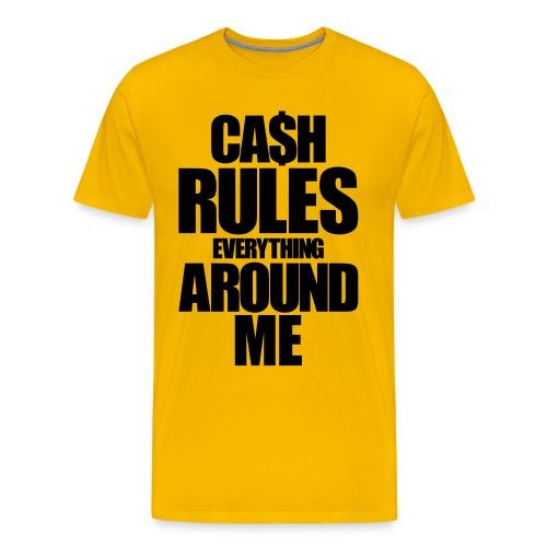 C.R.E.A.M Tee - Men's Premium T-Shirt