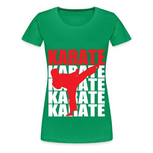 Karate - Women's Premium T-Shirt