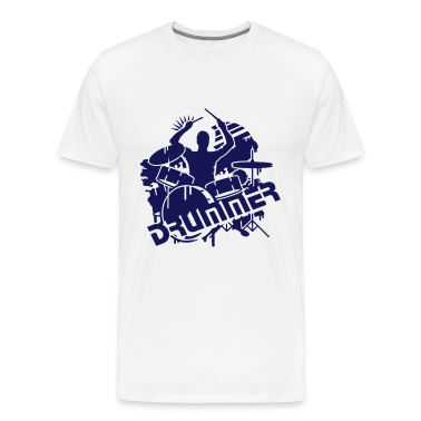 A drummer and his drums  T-Shirts