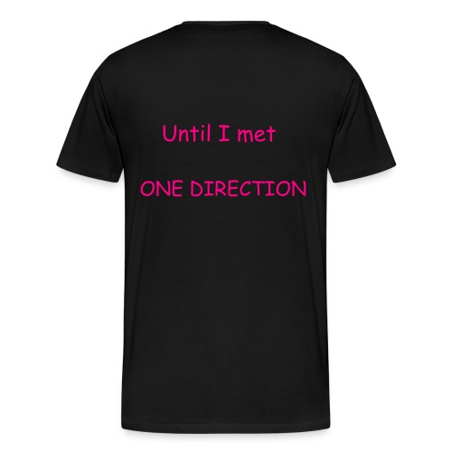 Nobody's Perfect...Until I Met One Direction - Men's Premium T-Shirt