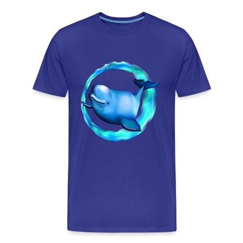 Beluga Whale - Men's Premium T-Shirt