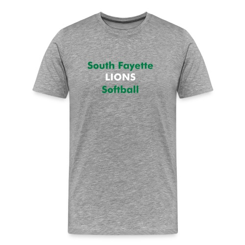 tshirt- softball - Men's Premium T-Shirt