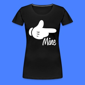 Mine Pointing RIght Women's T-Shirts - stayflyclothing.com - Women's Premium T-Shirt