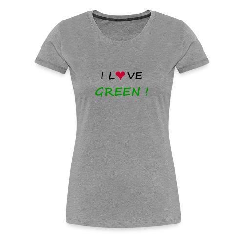 Women's Premium T-Shirt - women,t-shirt,planete,green,fun,ecology